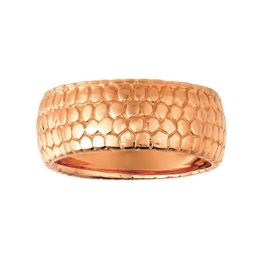 #ALACARTEBRIDAL PINK GOLD BAND Snakeskin Collection - GERARDRIVERON
