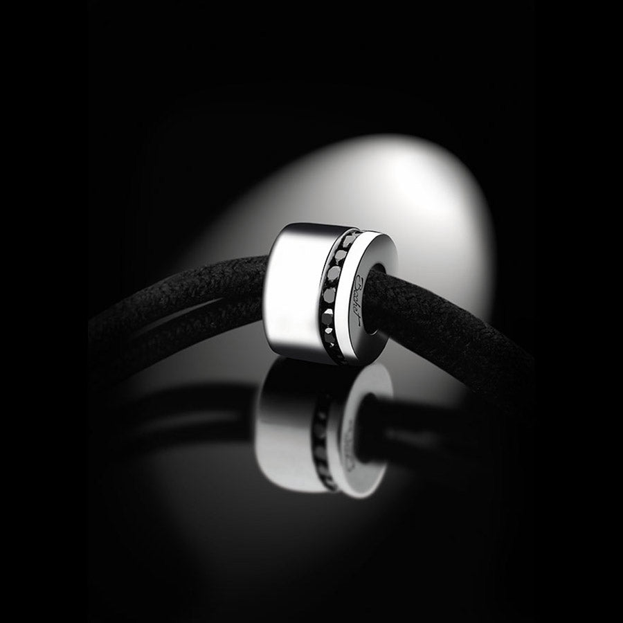 Men's Collection Unik Man Bracelet 'Sweet Side of Love' White Gold - GERARDRIVERON