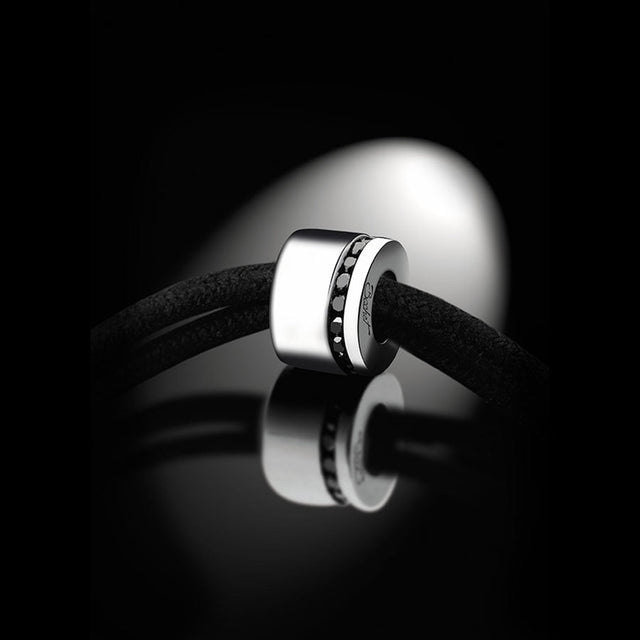 Maison Bachet Unik Man Bracelet 'Sweet Side of Love', White Gold Men's Jewelry