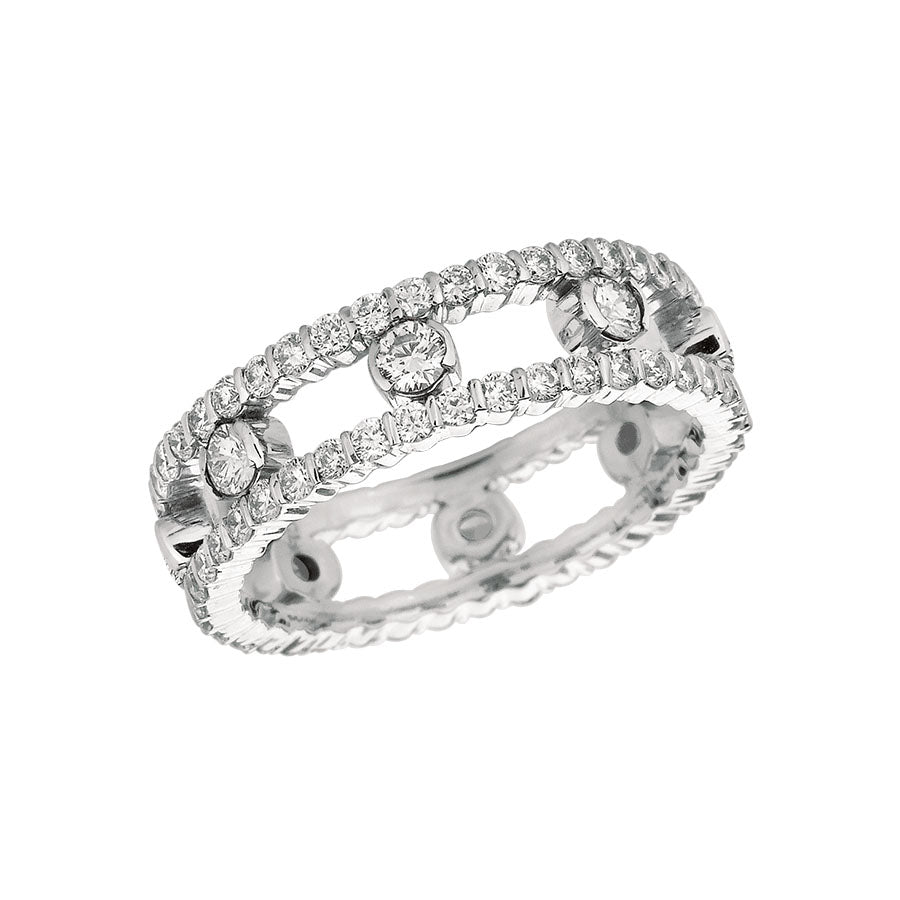 #ALACARTEBRIDAL GK WHITE AND DIAMOND WOMEN'S RING - GERARDRIVERON
