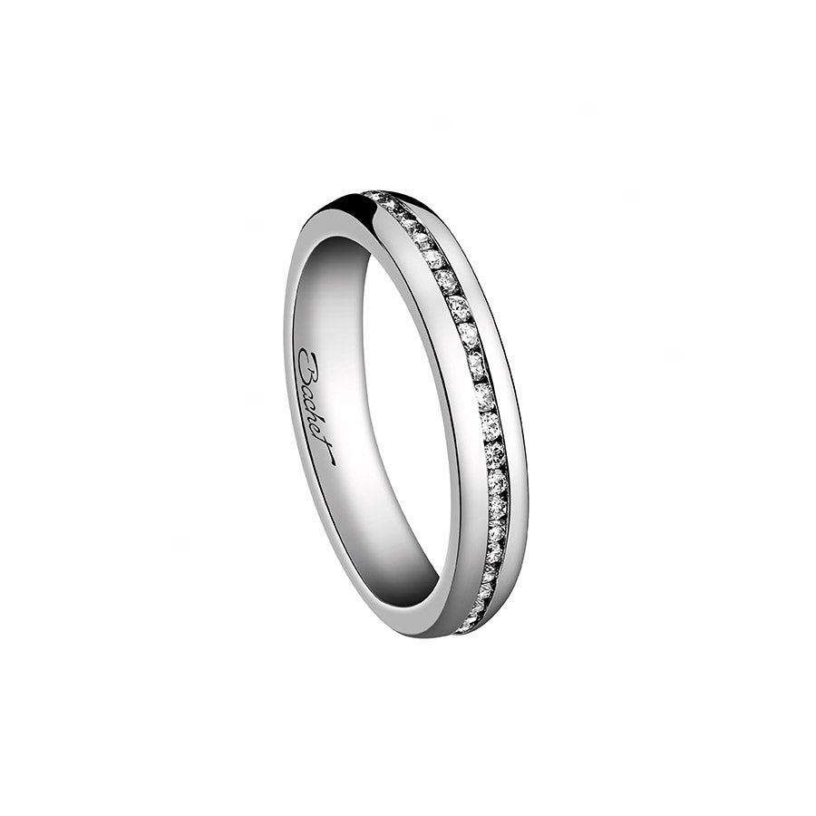 Women's Collection Wedding Ring Marry Me 'A Way to Love', White Gold Small model - GERARDRIVERON