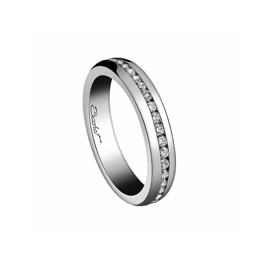 Women's Collection Wedding Ring Marry Me 'A Way to Love', White Gold Medium model - GERARDRIVERON