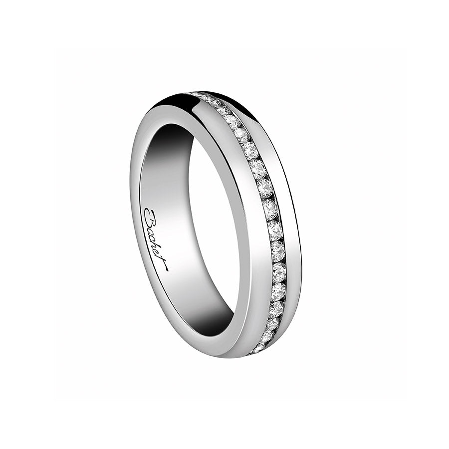 Women's Collection Wedding Ring Marry Me 'A Way to Love', White Gold Large model - GERARDRIVERON