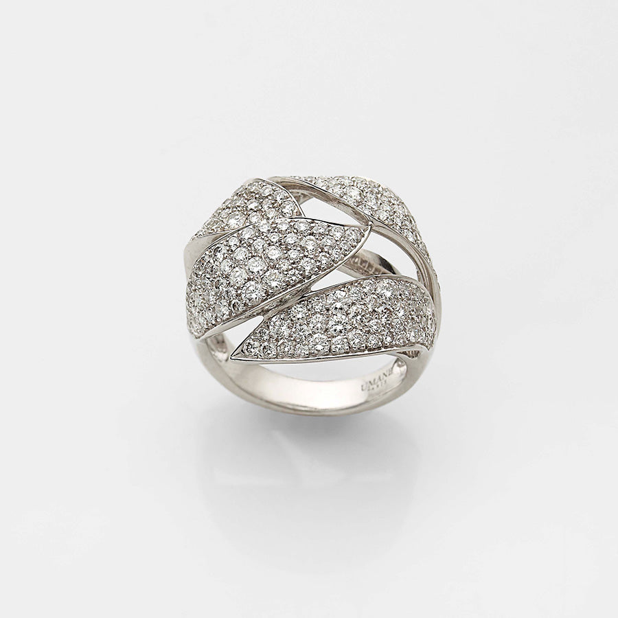 Natural History Collection Gold & Diamond Ring Buisson pavé #ALACARTEBRIDAL