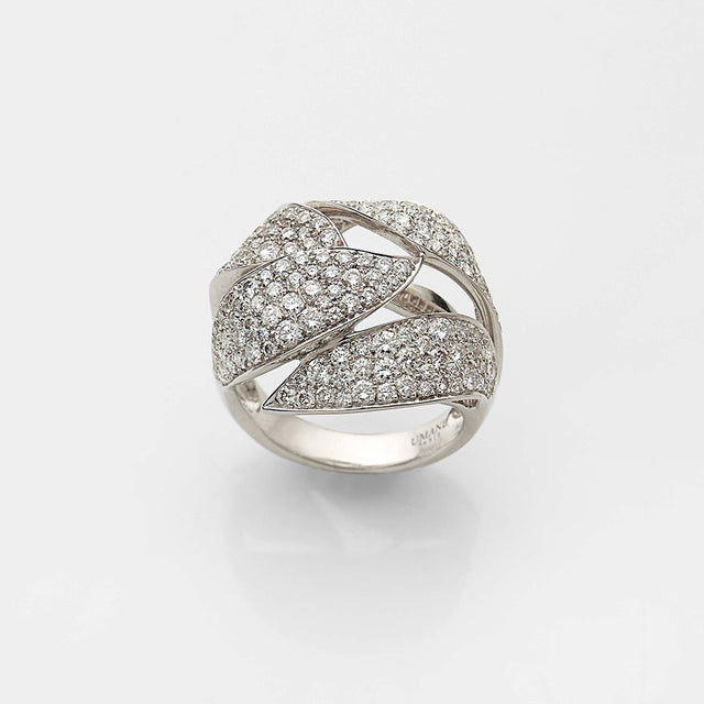 * Natural History Collection Gold & Diamond Ring Buisson pavé #ALACARTEBRIDAL