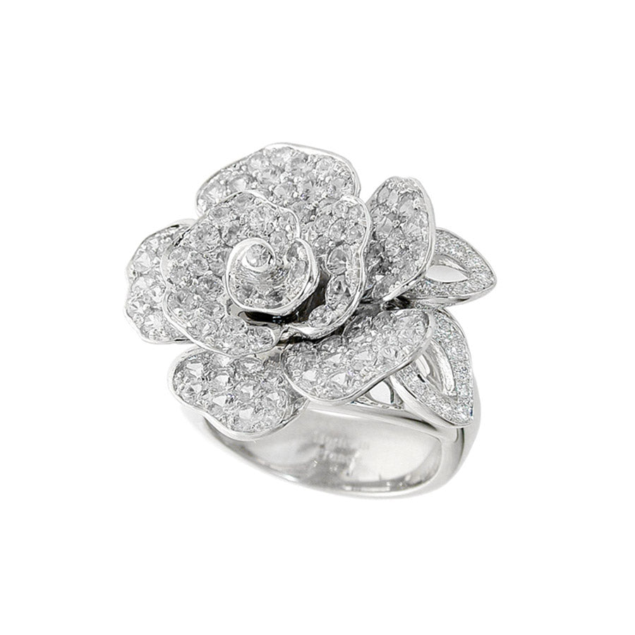 ROSE GM DIAMOND RING, ANTHOLOGY FLORILÈGE COLLECTION #ALACARTEBRIDAL