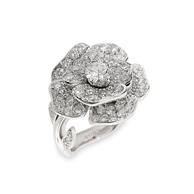 ROSE PM RING, FLORILÈGE COLLECTION #ALACARTEBRIDAL