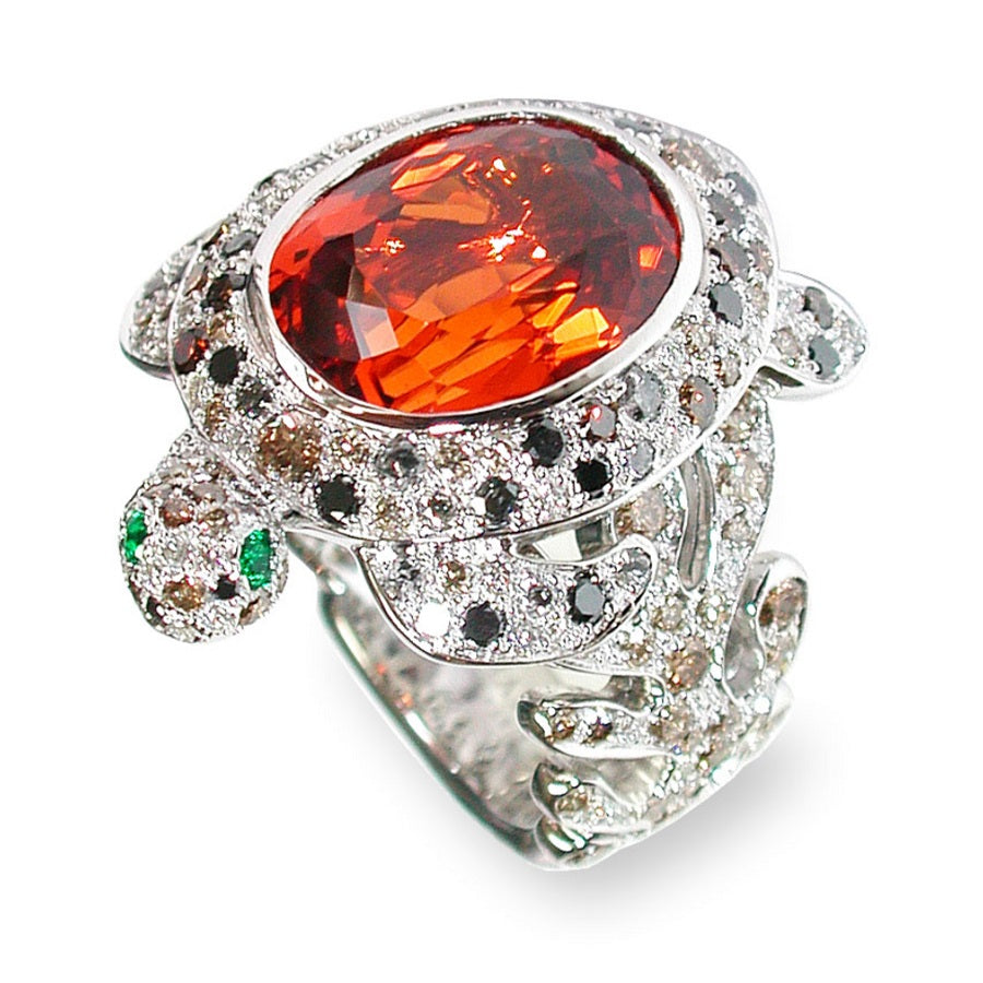 TORTUE Tangerine Garnet, BESTIOLES COLLECTION - GERARDRIVERON