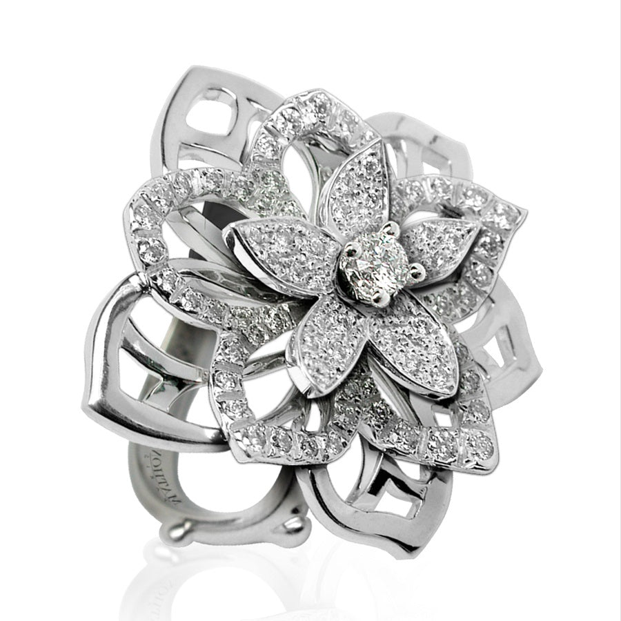 BOUQUET DE JASMIN RING DIAMONDS, FLORILÈGE COLLECTION #ALACARTEBRIDAL