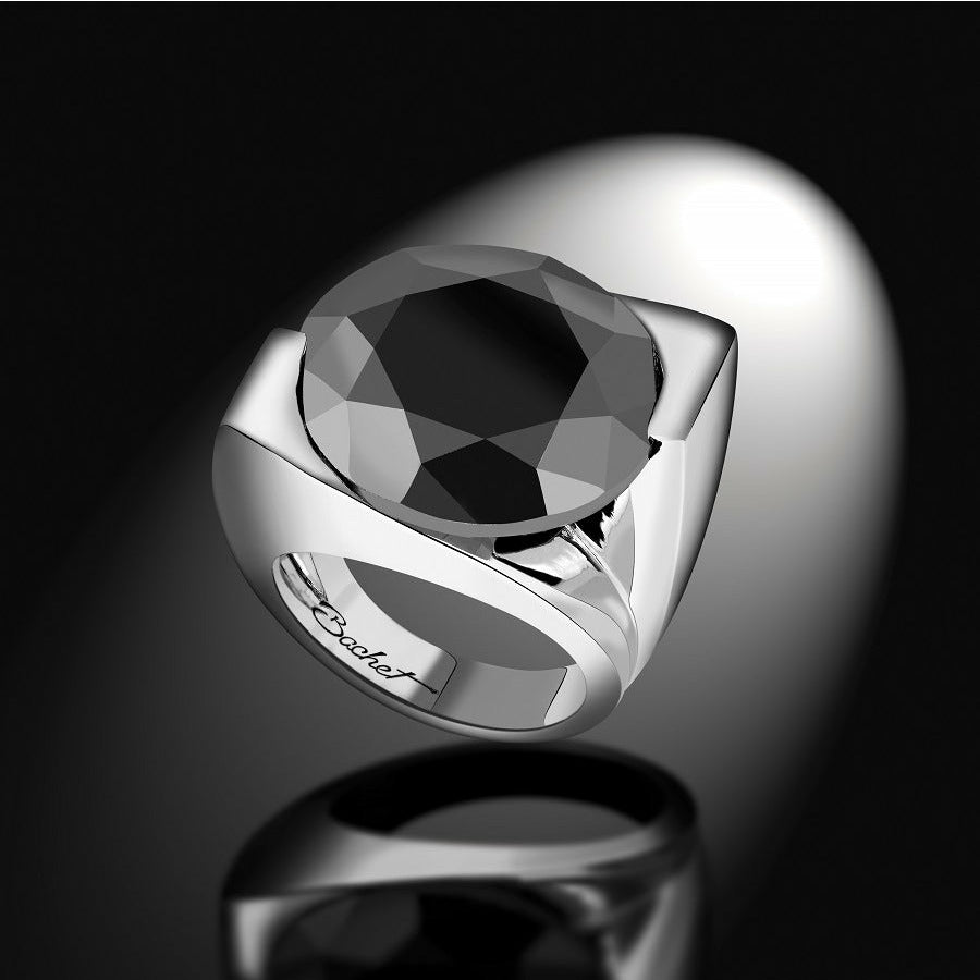 Women's Collection One of a Kind Ring LOUISE Black Diamond