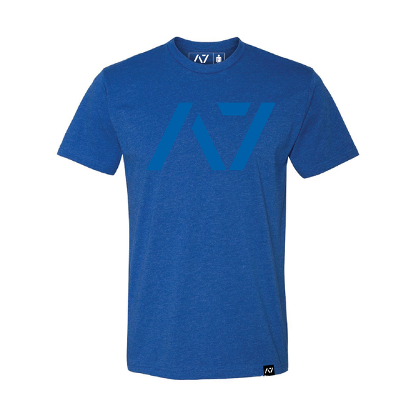 A7 BLUE on BLUE BAR GRIP™ FULL MEN'S SHIRT