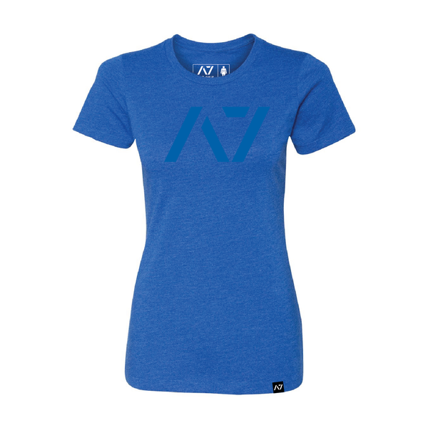 A7 BLUE on BLUE BAR GRIP™ FULL WOMEN'S SHIRT