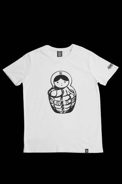 "Dirtyminds ""Matryoshka"" - (100% Organic Cotton)"