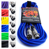 No Bull Professional XLR Microphone Cables