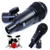 Nordell 7 Piece Drum Microphone Set
