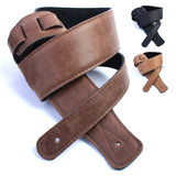 No Bull Ultra Soft Leather Guitar Strap