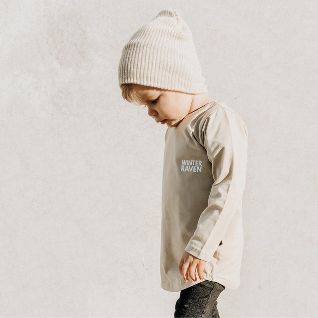 Khaki Long Sleeve - Winter + Raven