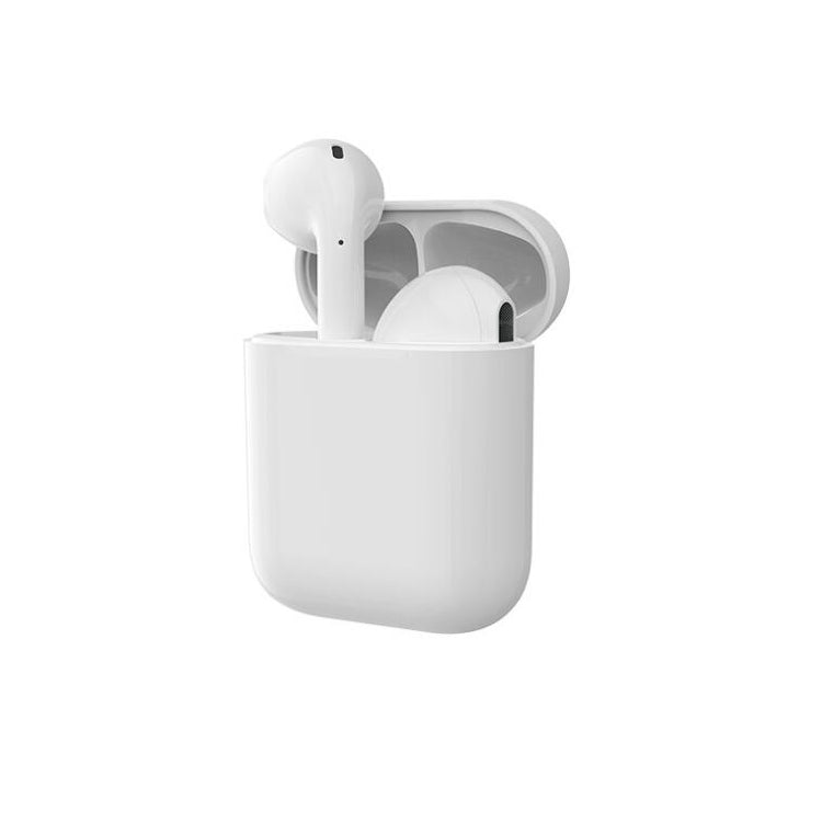Personalised White with Black Font Initial HD Ear Pods