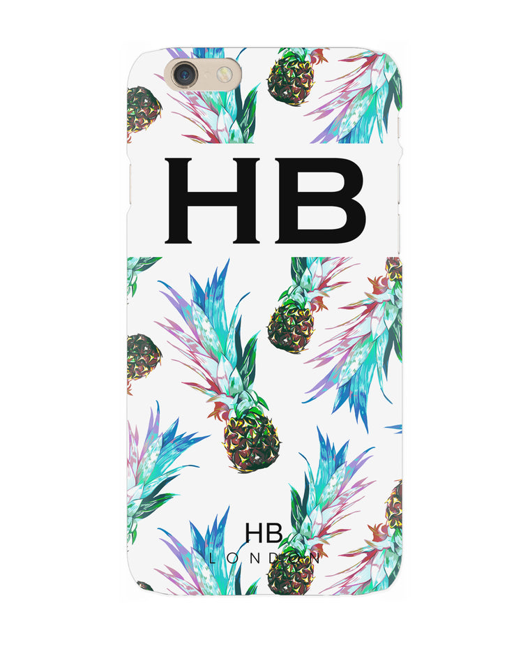 Personalised Pineapple Initial Phone Case