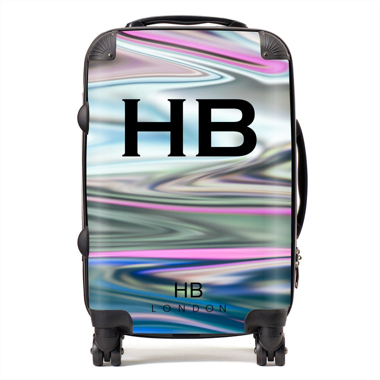 Personalised Holographic Initial Suitcase