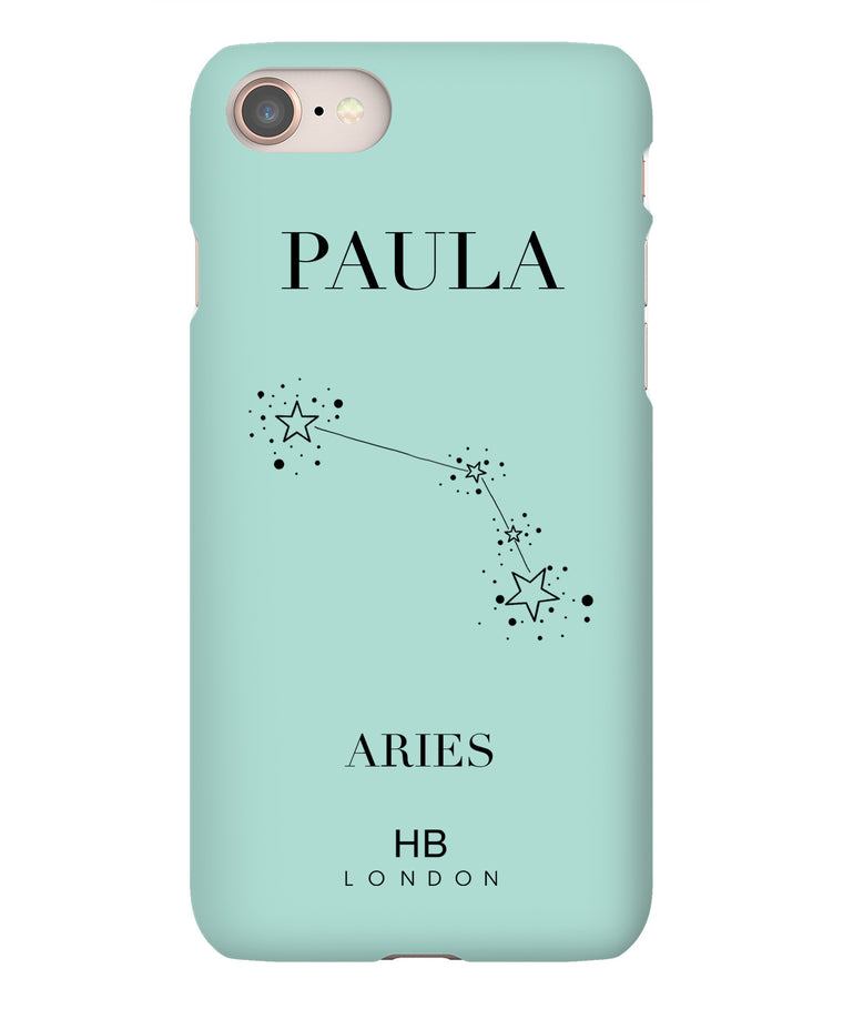 Personalised Aries Phone Case