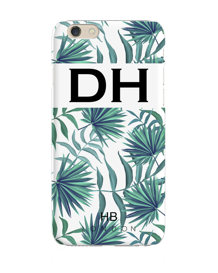 Personalised Palm Print Initial Phone Case