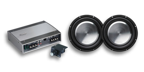 "Clarion Dual 10"" Sub & Amp Package"
