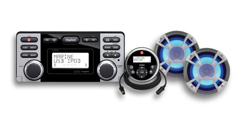 Clarion Marine Deck & Speaker Package