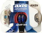 AXIS AMP8K HIGH POWER 8GA AMPLIFIER WIRING KIT