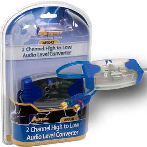 AERPRO AP3042 2 CH ADJUSTABLE HI-LOW LEVEL CONVERTER