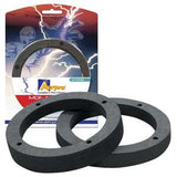 "AERPRO AP3151B 6"" BLACK MDF SPACERS (PAIR)"