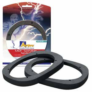 "AERPRO AP3191B 7x10"" BLACK MDF SPACERS (PAIR)"