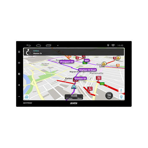 "AXIS AX1770NAV 7"" ANDROID MULTIMEDIA SYSTEM"