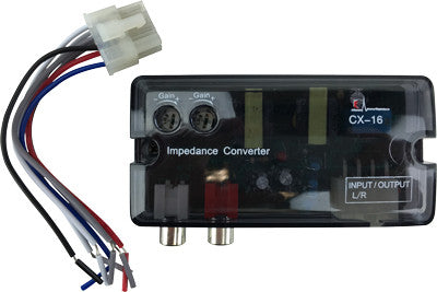 AXIS CX16 2 CH ADJUSTABLE HI-LOW LEVEL CONVERTER