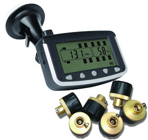 AXIS EK215H - HEAVY VEHICLE TPMS - with 6x EXTERNAL SENSORS