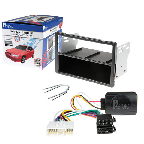 AERPRO FP9018K Holden VT/VX DECK INSTALL KIT - Single DIN