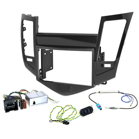 AERPRO FP9021 Holden Cruze Deck Install Kit - PIANO BLACK