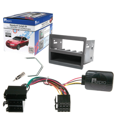 AERPRO FP9046GK Holden VY/VZ DECK INSTALL KIT - Single DIN