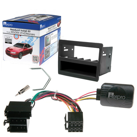 AERPRO FP9046K Holden VY/VZ DECK INSTALL KIT - Single DIN