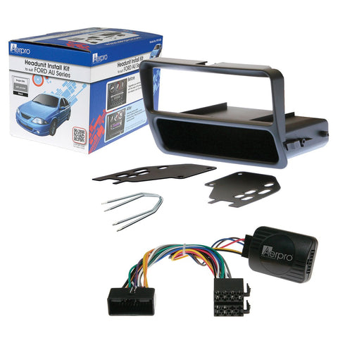 AERPRO FP9140K FORD AU DECK INSTALL KIT - Single DIN