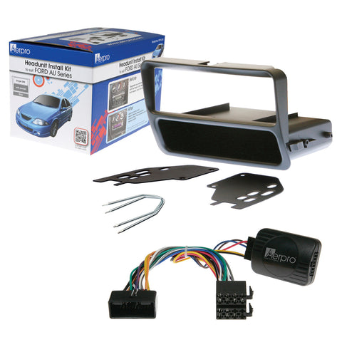 AERPRO FP9141K FORD AU DECK INSTALL KIT - Single DIN