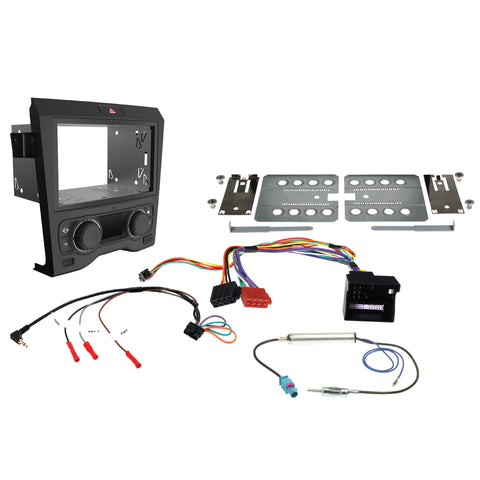 Aerpro FP9450BK VE Commodore Series 1 Facia Kit - BLACK (DUAL ZONE)