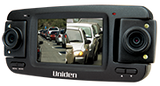 UNIDEN CAM850 TRIPLE HD IN-CAR VEHICLE RECORDER