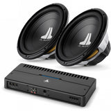 JL Audio Dual 15W0v3 and RD1000/1 Subwoofer Package