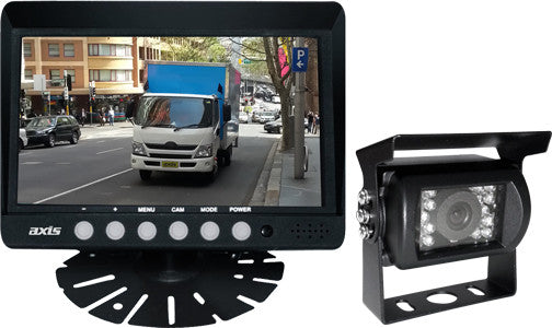 Axis Js022k Heavy Duty 7 Quot Led Monitor With Ccd Camera