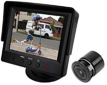 "AXIS JS035K - 3.5"" LCD MONITOR & CAMERA KIT"