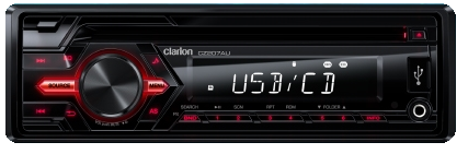 CLARION CZ207AU CD/USB/MP3/WMA RECEIVER