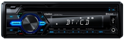 CLARION CZ307AU CD/MP3/BT RECEIVER