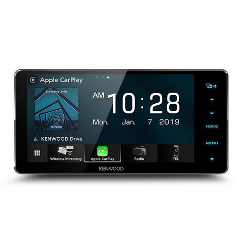KENWOOD DDX919WS PREMIUM MULTIMEDIA SYSTEM WITH WIRELESS APPLE CARPLAY