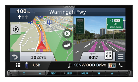 "KENWOOD DNX9180DABS PREMIUM 7"" GPS MULTIMEDIA SYSTEM"
